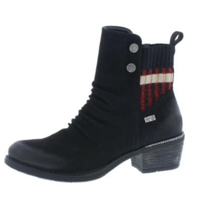 Rieker Women's R1172-02 Black Leather