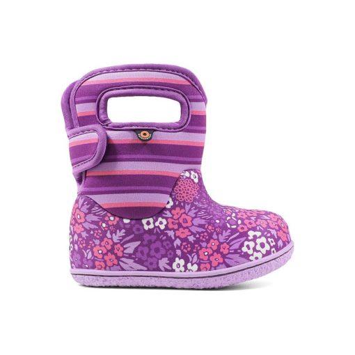 Bogs Baby Rain Boots Northwest Garden Purple