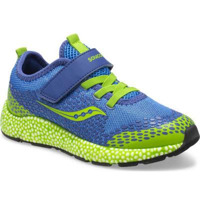 Saucony Big Kid's Astrofoam A/C Sneaker Blue/Green
