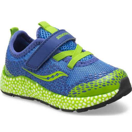Saucony Little Kid's Astrofoam Jr. A/C Sneaker Blue/Green