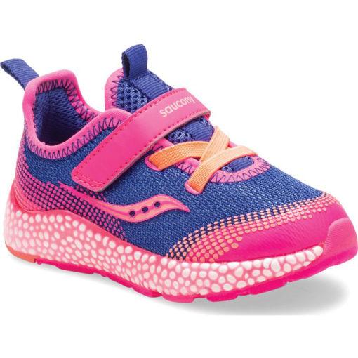 Saucony Little Kid's Astrofoam Jr. A/C Sneaker Blue/Pink