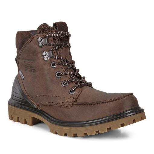 ECCO Men's TREDTRAY Boot Cocoa Brown Mocha