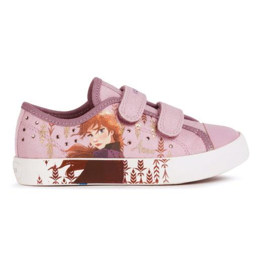 Geox Ciak Girl Frozen Shoes Pink Anna
