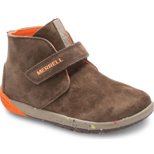 Merrell Kid's Bare Steps Boot Brown