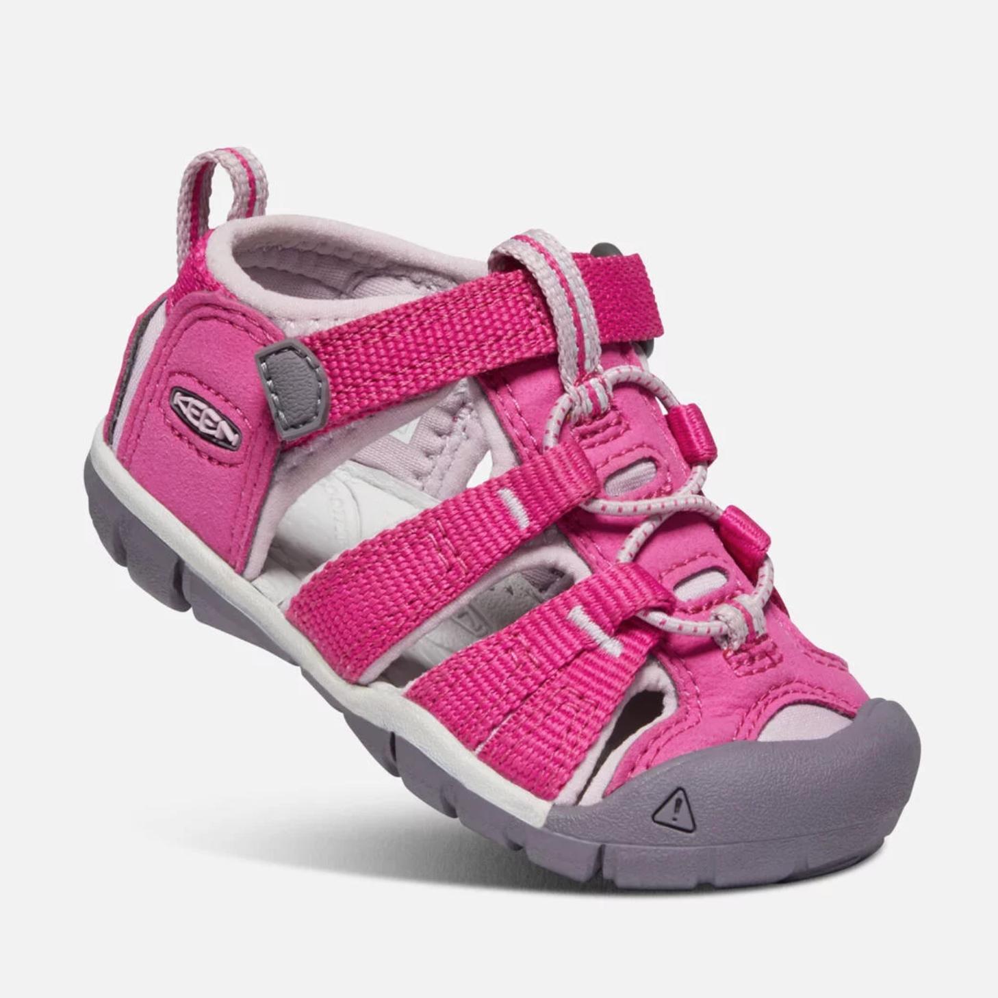 NEW girl KEEN seacamp II CNX Sandals waterproof shoes very berry 6 7 8 9 10 12